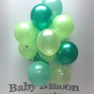 000130 – Light Balloon Bunch – G5 (Green theme) ∣ 輕量氣球組合 – G5 (綠系主題)